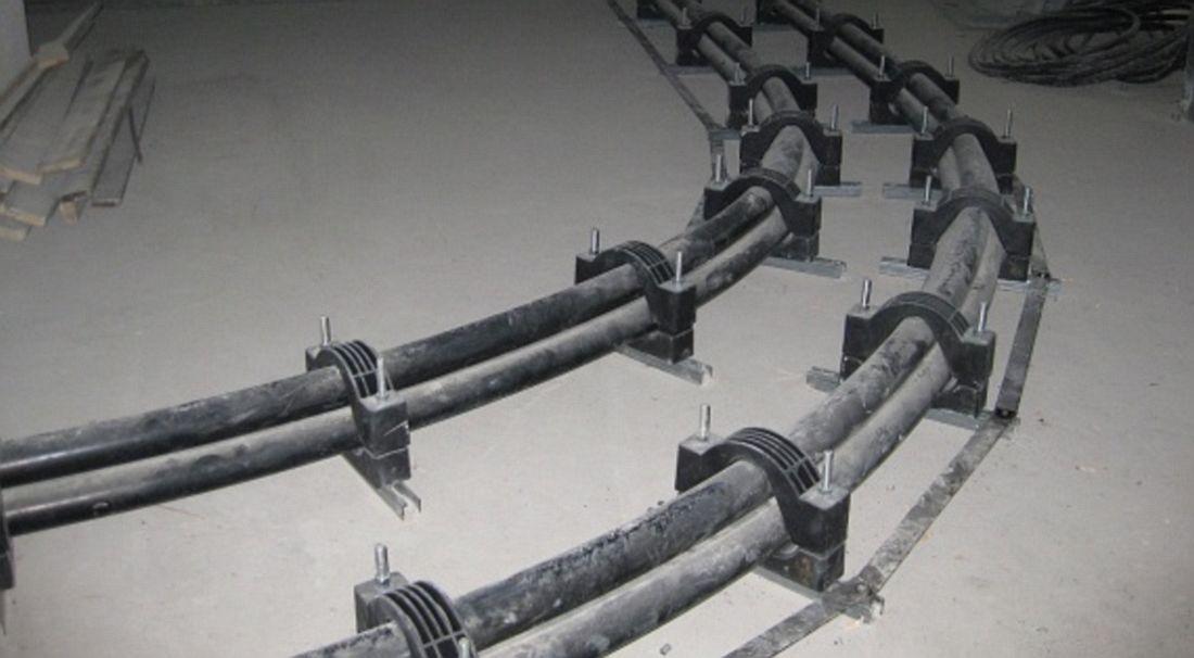 Прокладка кабеля сшитого полиэтилена